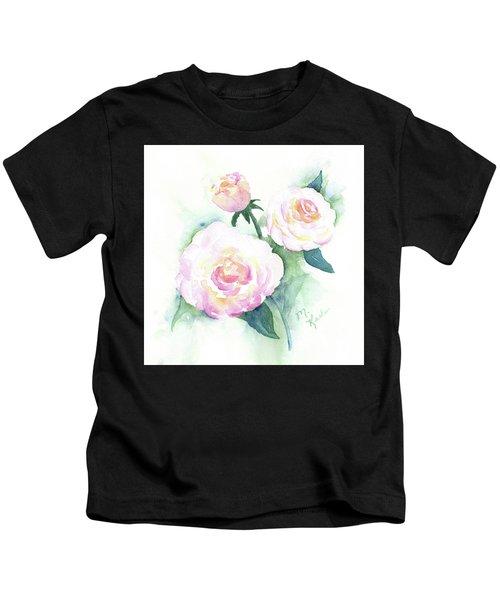 Late Summer Roses Kids T-Shirt