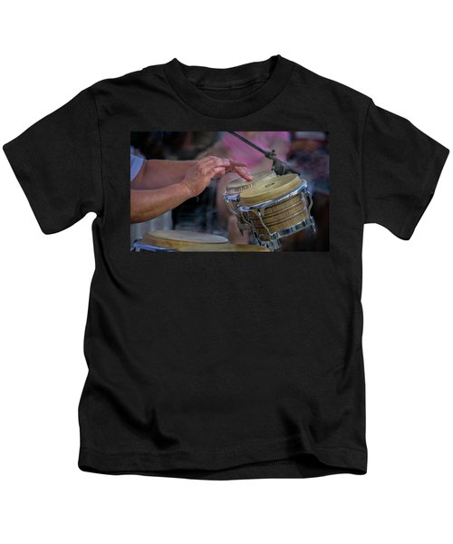 Latin Jazz Musician Kids T-Shirt