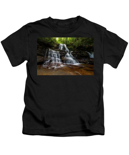 Laurel Falls Great Smoky Mountains Tennessee Kids T-Shirt