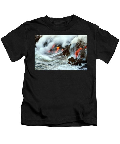 Lava And Ocean Kids T-Shirt
