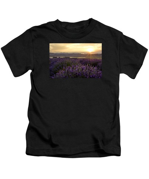 Lavender Glow Kids T-Shirt