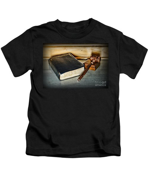 Lawyer - Truth And Justice Kids T-Shirt