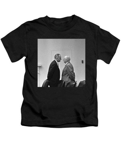 Lbj Giving The Treatment Kids T-Shirt
