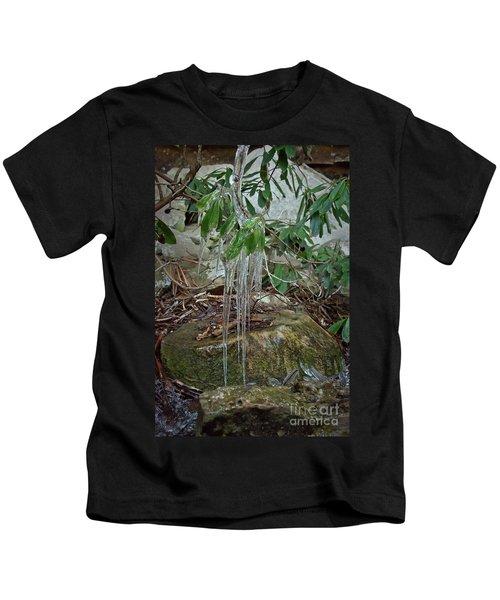 Leaf Drippings Kids T-Shirt