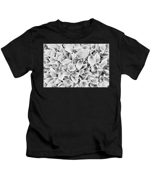 leaves of False lily of the valley Kids T-Shirt