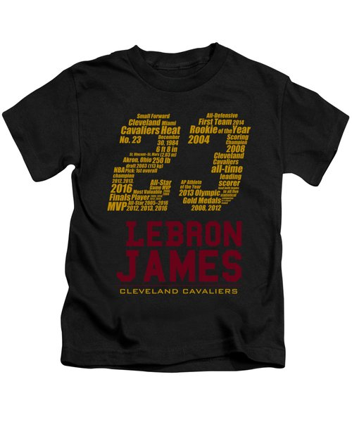 Lebron 23 Kids T-Shirt by Augen Baratbate