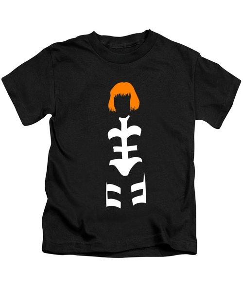 Leeloo Silhouette Kids T-Shirt