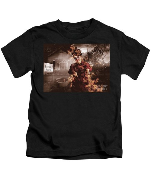 Legend Of The Furnace Funerals Fire Kids T-Shirt