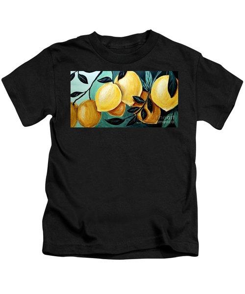 Lemons Kids T-Shirt
