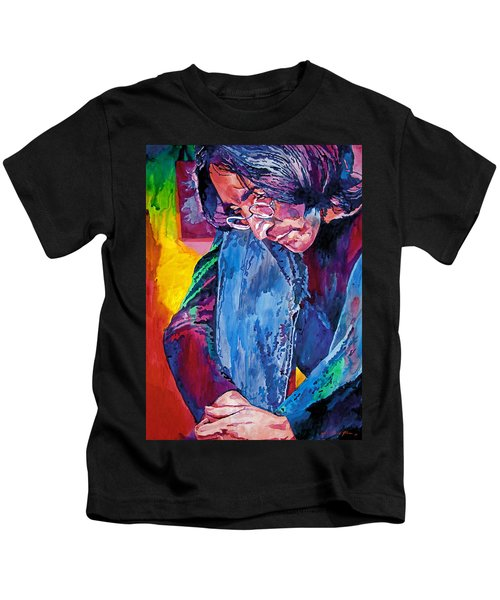 Lennon In Repose Kids T-Shirt