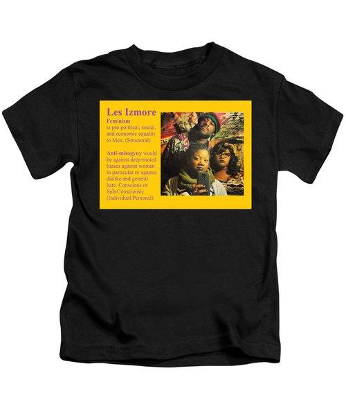 Les Izmore Feminism Kids T-Shirt