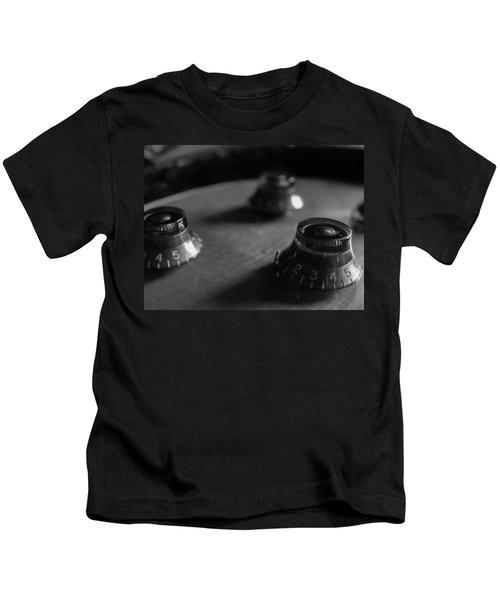 Les Paul Controls Series  Kids T-Shirt