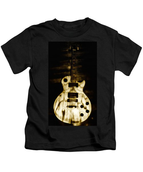 Les Paul Guitar Kids T-Shirt