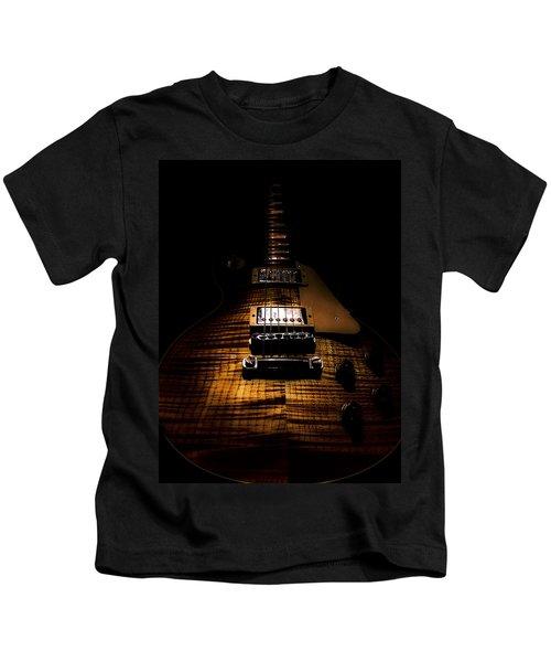 Burst Top Guitar Spotlight Series Kids T-Shirt