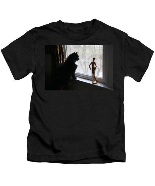 Lesson In Perspective  Kids T-Shirt