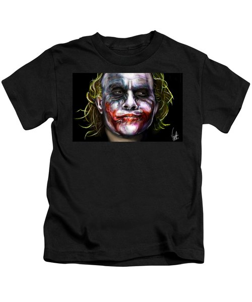 Let's Put A Smile On That Face Kids T-Shirt by Vinny John Usuriello