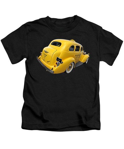 Let's Ride - Studebaker Yellow Cab Kids T-Shirt