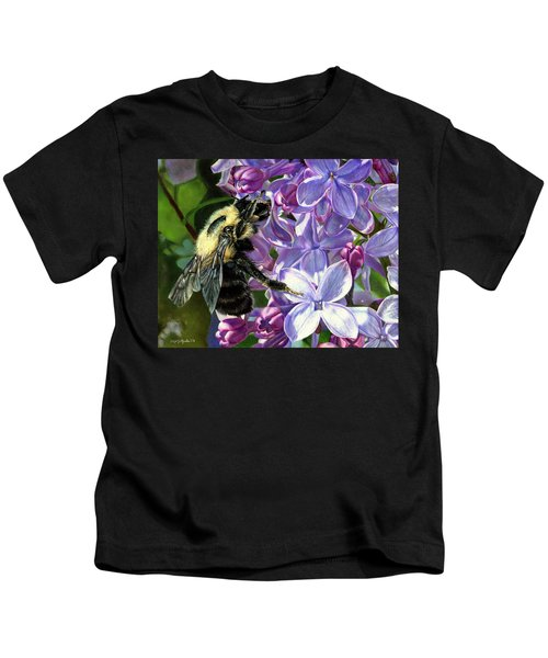 Life Among The Lilacs Kids T-Shirt