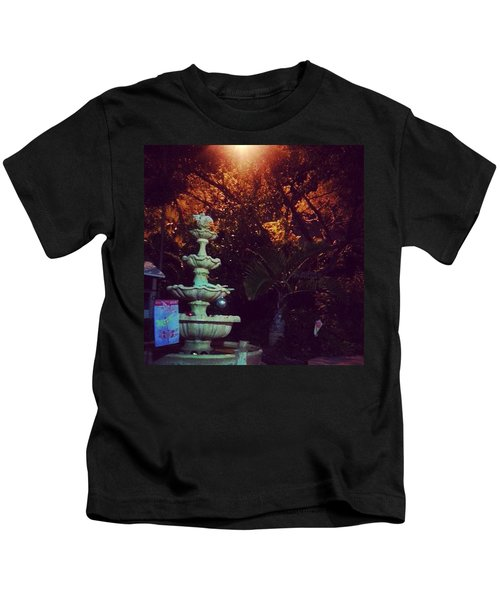 Night Time Trials Kids T-Shirt