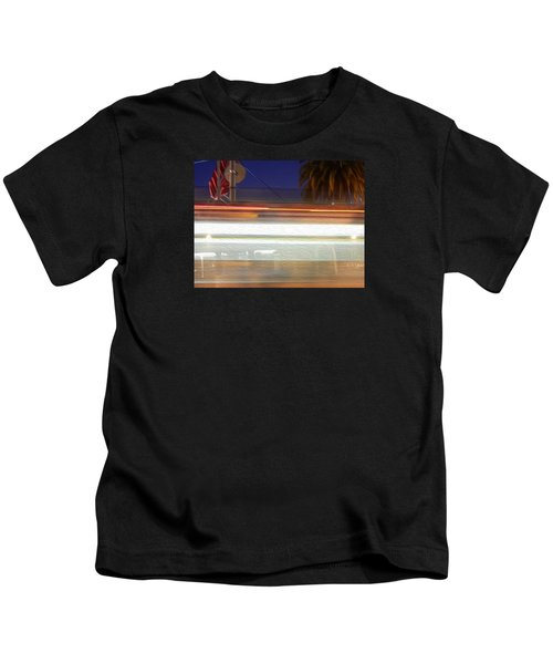 Life In Motion Kids T-Shirt by Ryan Fox