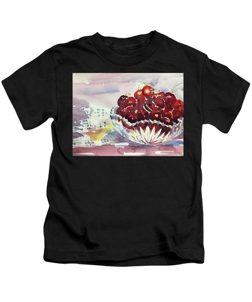 Life Is Just A Bowl Of Cherries Kids T-Shirt