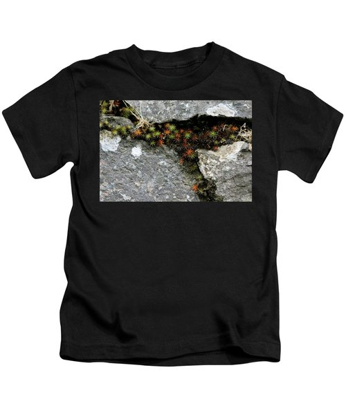 Life Lived In The Cracks Kids T-Shirt