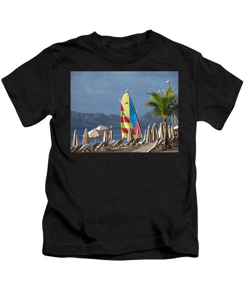 Life On The Shore Kids T-Shirt