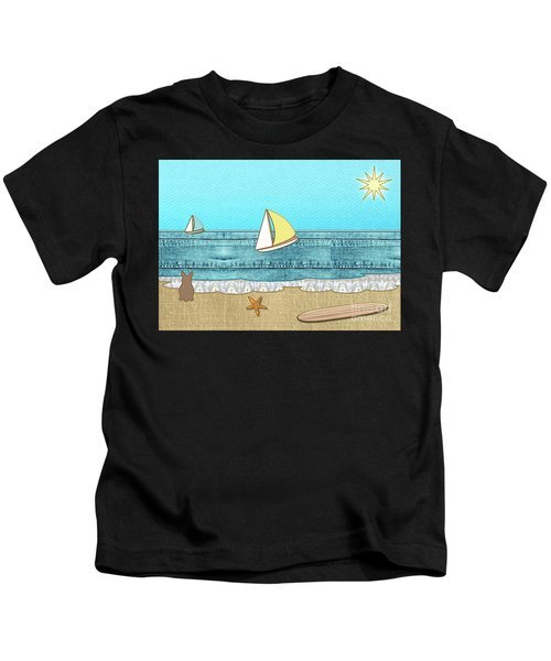 Life's A Beach Kids T-Shirt