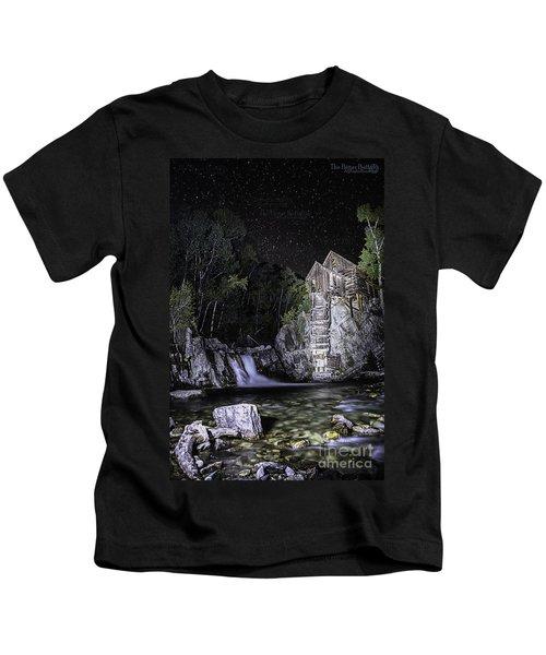 Lights On The Mill Kids T-Shirt
