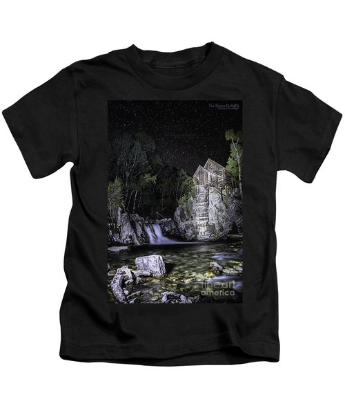 Lights On The Mill Kids T-Shirt