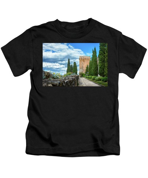 Like A Fortress In The Sky Kids T-Shirt