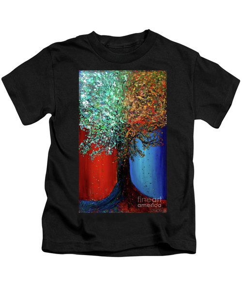Like The Changes Of The Seasons Kids T-Shirt