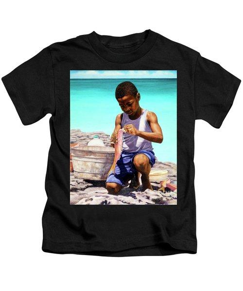Lil Fisherman Kids T-Shirt
