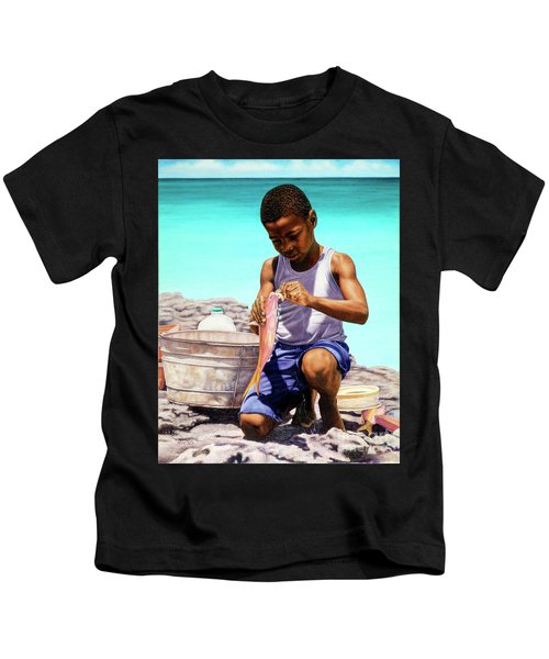 Lil Fisherman Kids T-Shirt