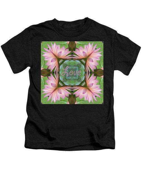 Lily Pad Love Kids T-Shirt