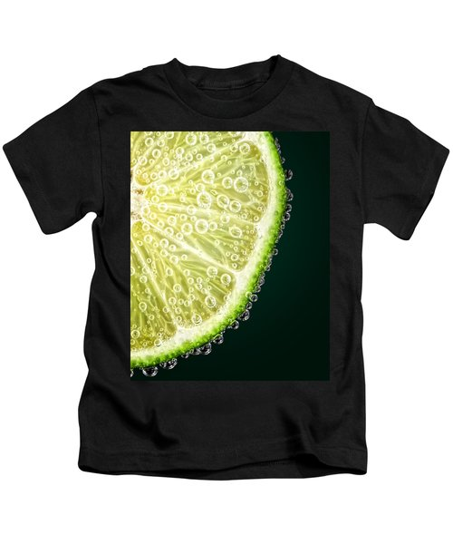 Lime Slice Kids T-Shirt