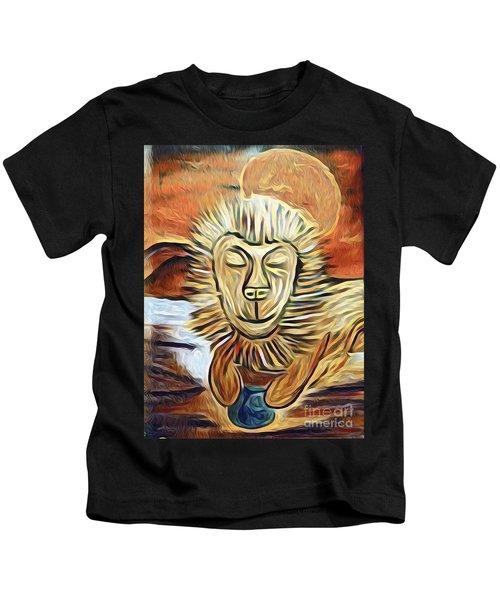 Lion Of Judah II Kids T-Shirt