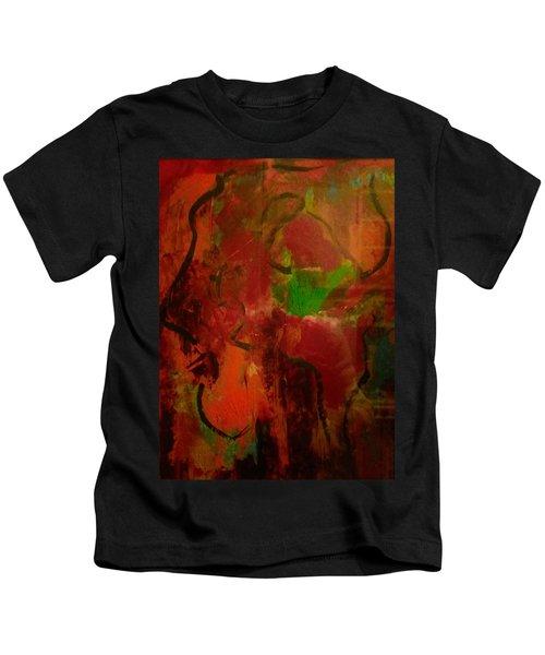 Lion Proile Kids T-Shirt