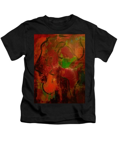 Lion Proile Kids T-Shirt