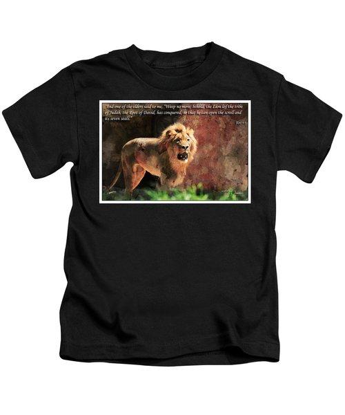Lion Revelation 5 Kids T-Shirt