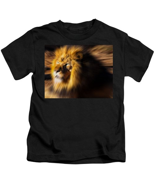 Lion The King Is Comming Kids T-Shirt