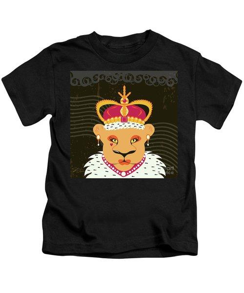 Lioness Queen Kids T-Shirt