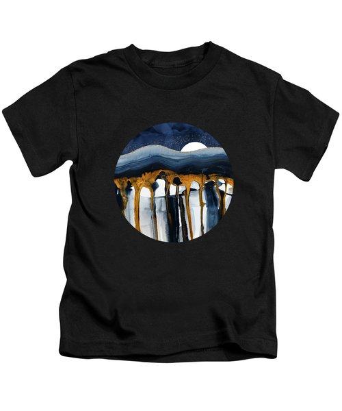 Liquid Hills Kids T-Shirt