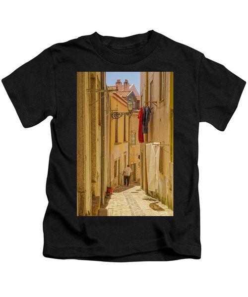 Lisbon Street # 1 Kids T-Shirt