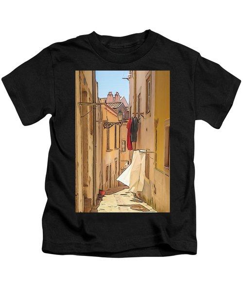 Lisbon Street #2 Kids T-Shirt