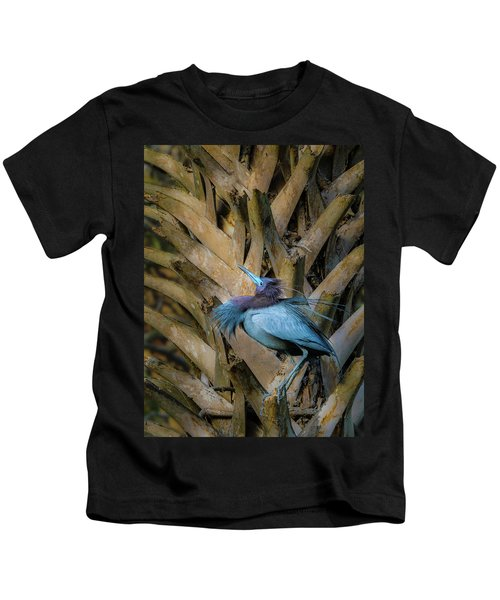 Little Blue Heron Kids T-Shirt
