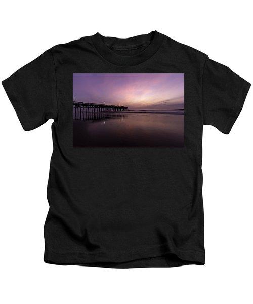 Little Island Sunrise Kids T-Shirt