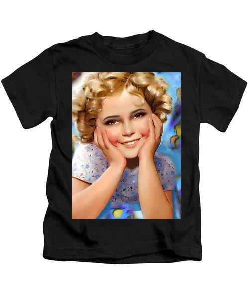 Little Miss Shirley Kids T-Shirt
