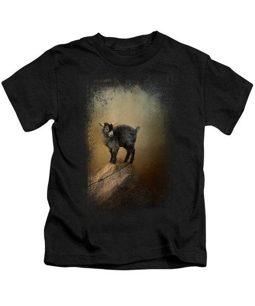 Little Rock Climber Kids T-Shirt