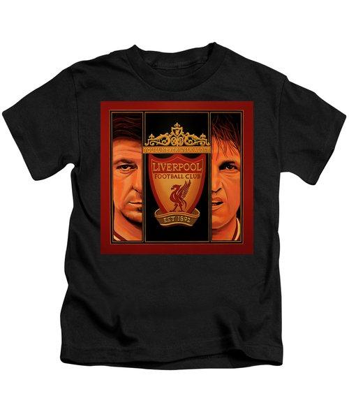 Liverpool Painting Kids T-Shirt